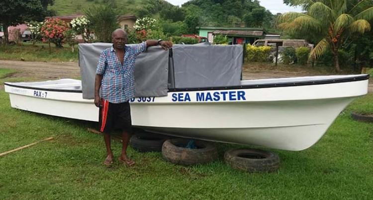 Ashok Offers $1000 Reward For Stolen Boat