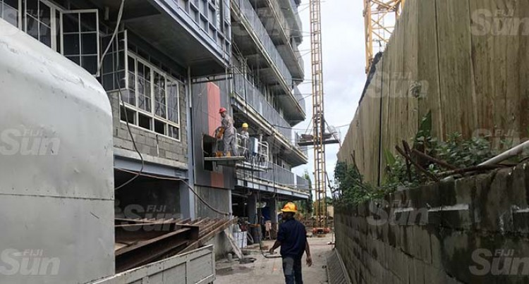 Construction Work Resumes At Yue Lai Hotel