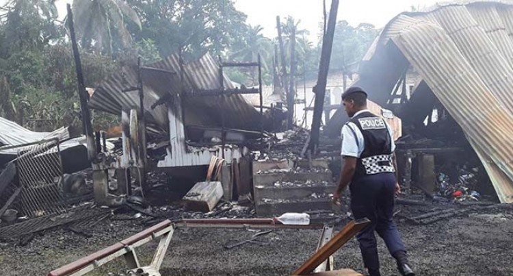 Eight Homeless After Fire Destroys Home In Lami