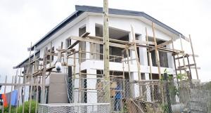 A property under construction at Wainibuku new subdivision in Nakasi, Nausori on July 15, 2020. Photo: Ronald Kumar