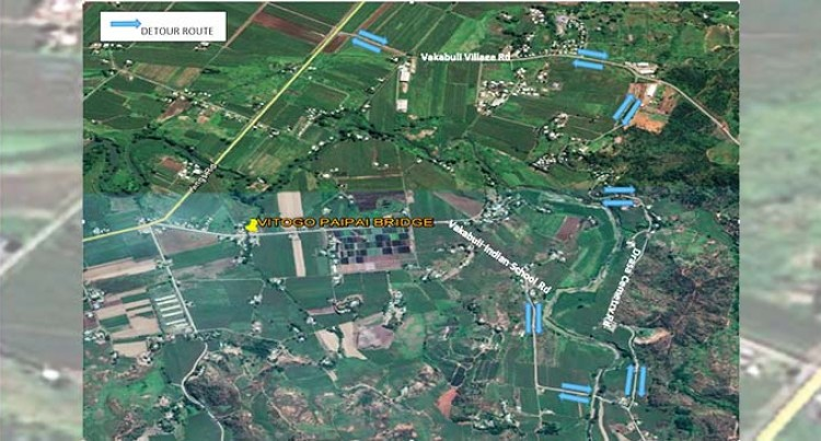 Vitogo Paipai Timber Bridge To Undergo Repairs From Saturday