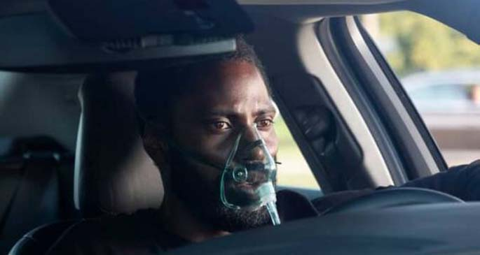 "A still shot of Christopher Nolan's original sci-fi action film ""Tenet."" (Photo credit: warnerbros.com)"