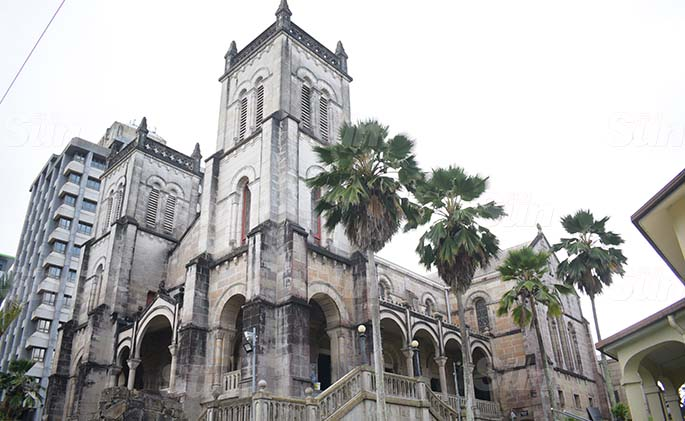 Sacred Heart Cathedral in Suva. Photo: Ronald Kumar