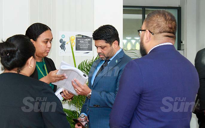 Attorney-General and Minister for Economy, Civil Service and Communications, Aiyaz Sayed-Khaiyum on July 31, 2020. Photo: Kelera Sovasiga