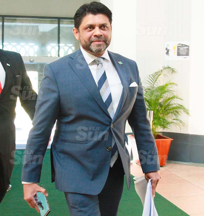 Attorney-General and Minister for Economy, Civil Service and Communications, Aiyaz Sayed-Khaiyum on July 29, 2020. Photo: Kelera Sovasiga
