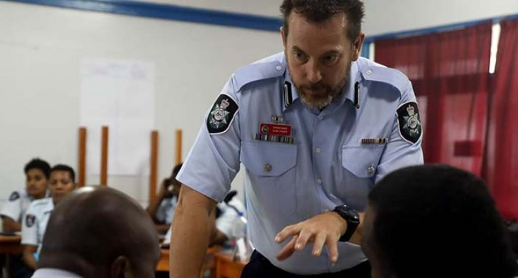 Australia, NZ Police Force Conduct Training For Fiji Officers
