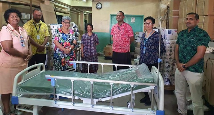 Fiji Women's Crisis Centre Donates Beds To Hospital