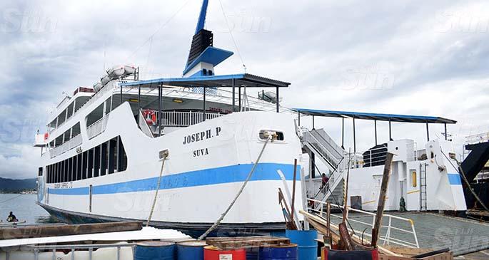 Goundar Shipping Limited vessel Joseph P at Port Mua-i-Walu on June 30, 2020. Photo: Ronald Kumar
