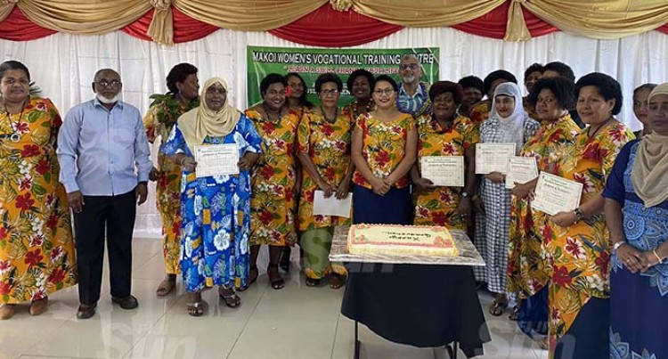 Makoi Women's Vocational Training Centre Graduation
