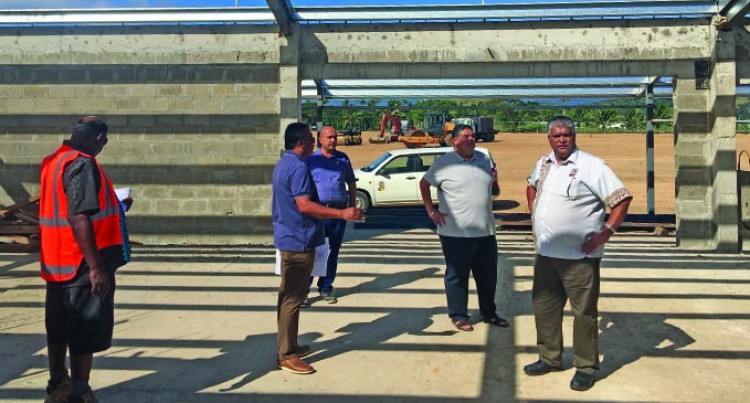 New Fiji Football Association Labasa Academy in  progress