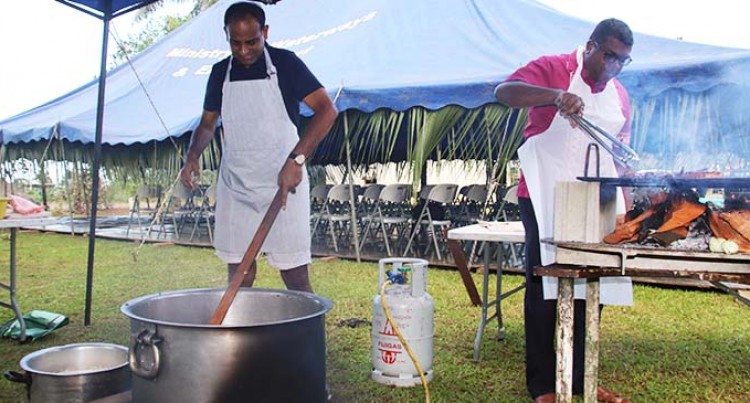 Reddy And Wycliffe Cook Up A Storm For Staff Members