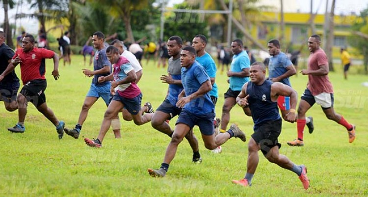 Namosi Rugby Side Train At Grammar Grounds