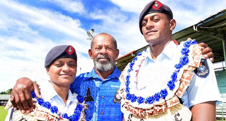 Waqavakatoga Siblings Become Third Generation Cops
