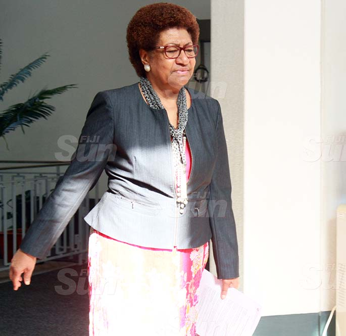 SODELPA Opposition member, Ro Teimumu Kepa on July 30, 2020. Photo: Kelera Sovasiga