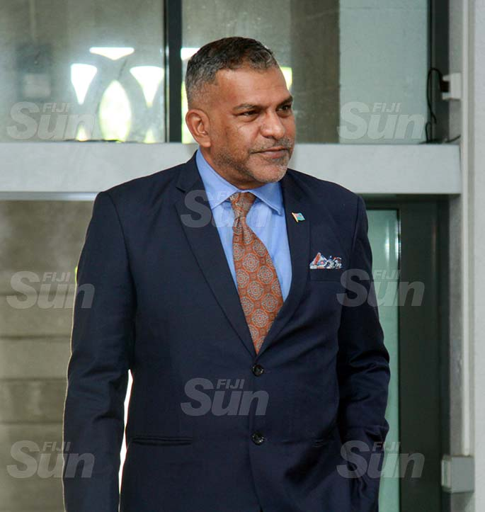 Minister for Commerce, Trade, Tourism and Transport, Faiyaz Koya on July 31, 2020. Photo: Kelera Sovasiga
