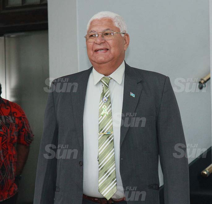 Assistant Minister for Health and Medical Services, Alexander O'Connor on July 30, 2020. Photo: Kelera Sovasiga