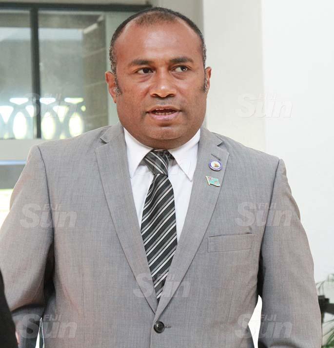 Minister for Health and Medical Services, Dr Ifereimi Waqainabete. Photo: Kelera Sovasiga