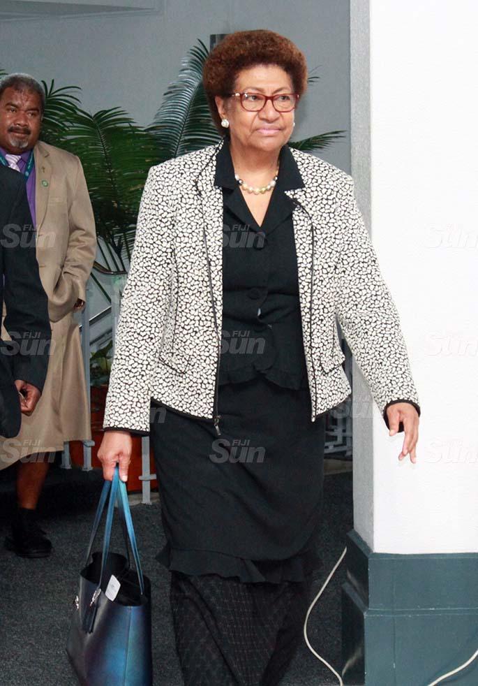 SODELPA Opposition member, Ro Teimumu Kepa on July 30, 2020. Photo: Kelera Sovasiga