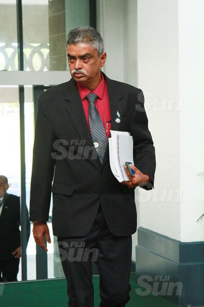 Assistant Minister for Agriculture, Waterways and Environment, Viam,m Pillay on July 30, 2020. Photo: Kelera Sovasiga