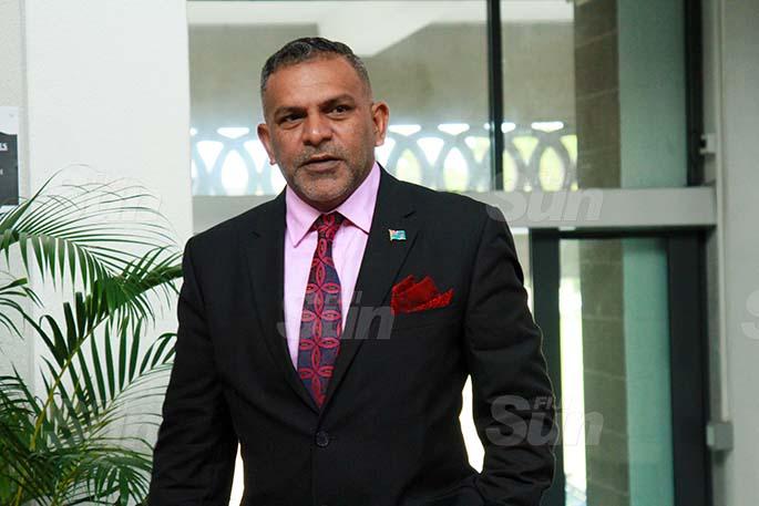 Minister for Commerce, Trade, Tourism and Transport, Faiyaz Koya on July 30, 2020. Photo: Kelera Sovasiga