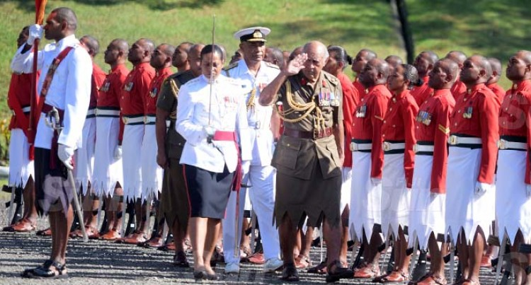 Inauguration Of The Colonel Of The Regiment: Brigadier-General Nailatikau Bestowed The Honour