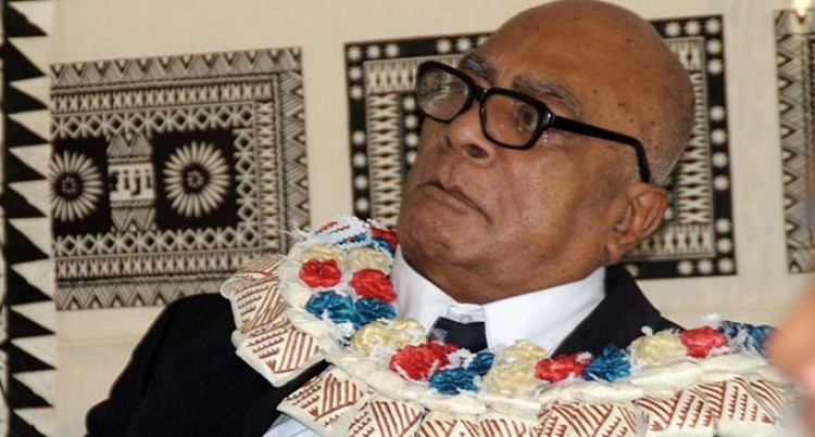 Serua Chief Dies At Age 80