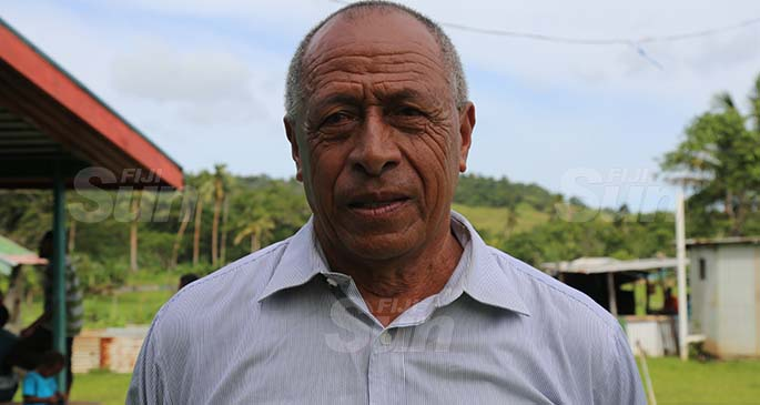 Viro Village Headman, Filipe Ledua. Photo: Kelera Sovasiga