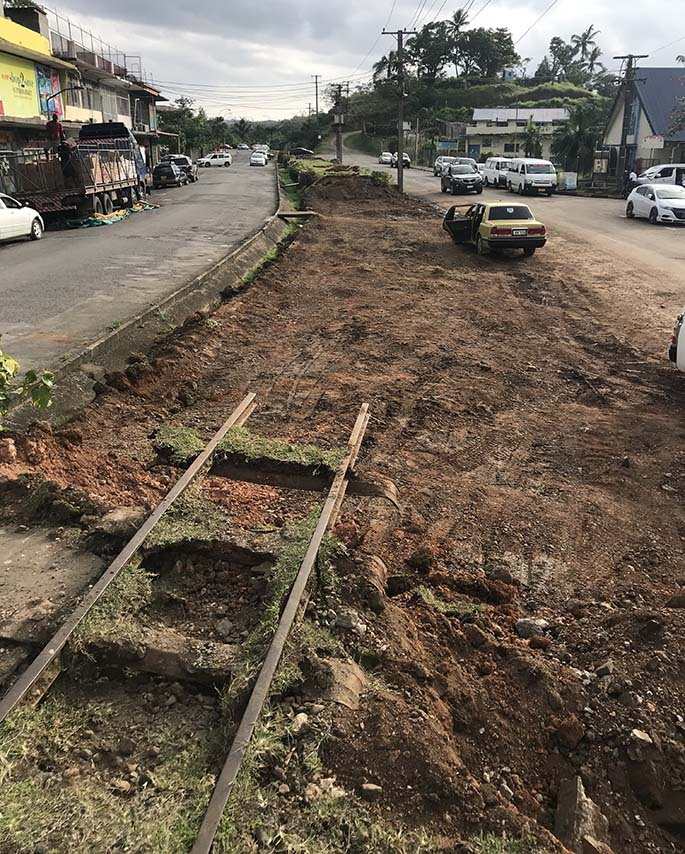 A project by the Sigatoka Town Council is underway to make way for 110 parking spaces.