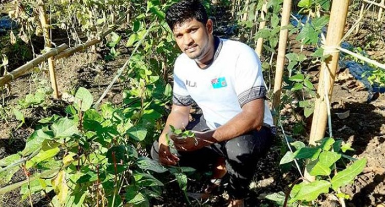 Graduate Takes His Skills, Experience to Labasa Farm