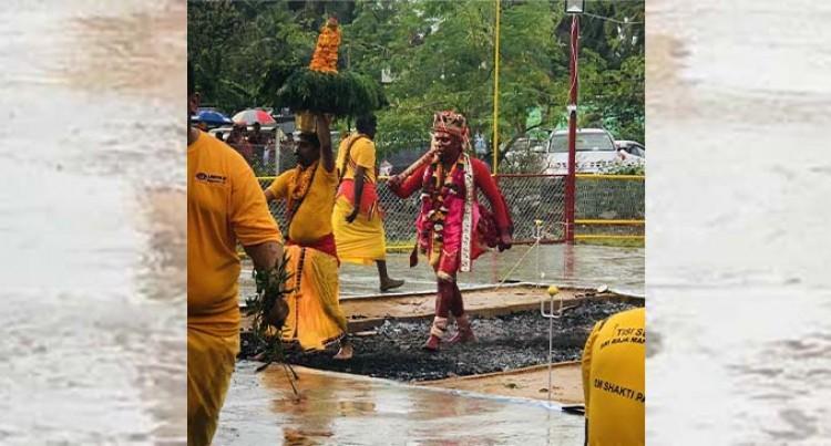 Firewalkers Brave Wet Weather