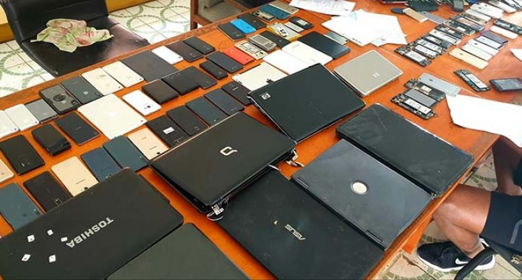 Man In Custody After Police Recover Stolen Items At His Home In Nakasi