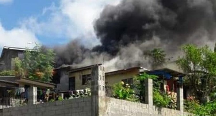 Valelevu Fire Destroys Two Flats