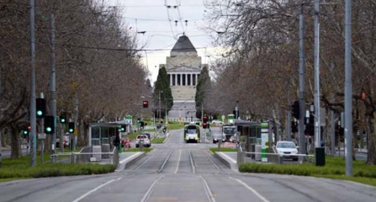 Australia's Cultural Capital Melbourne Goes Quiet Under COVID-19 Lockdown