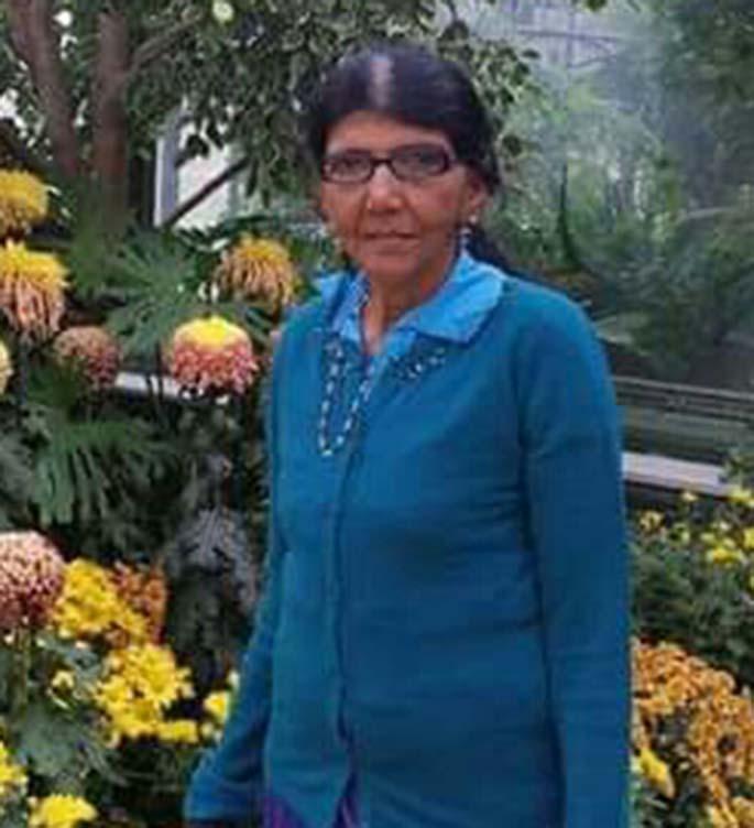 Matanikorovatu road accident victim Indira Kumari, 70.