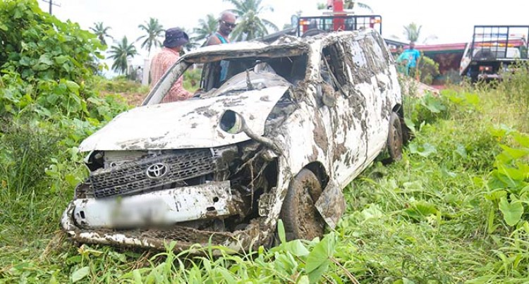 Brothers Escape Early Dip In Baulevu River