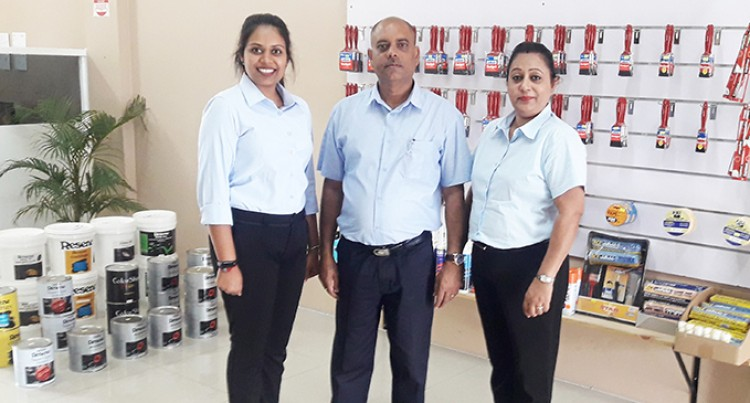 Bramha Opens Paint Business Despite COVID