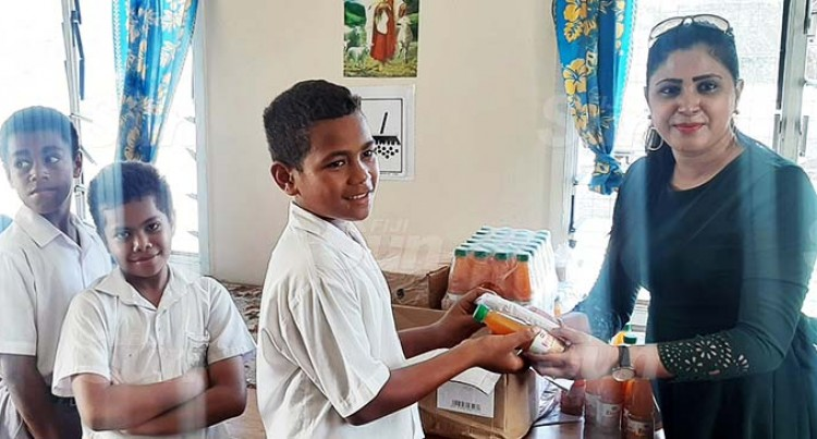 St Thomas Primary Provides Lunch For 107 Needy Students