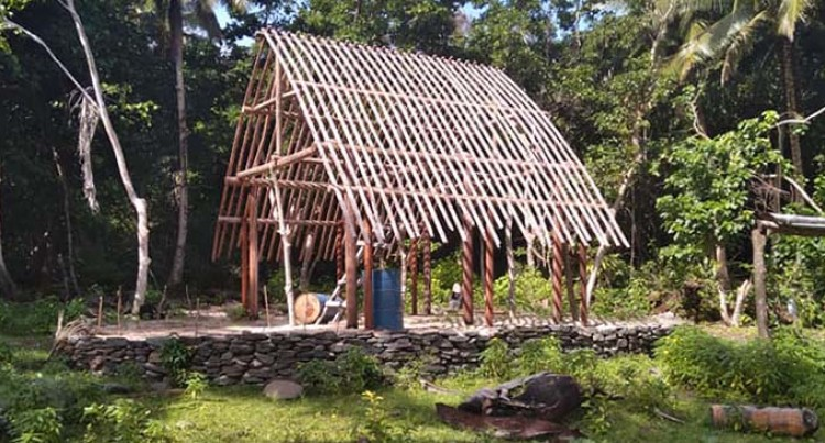School Being Set Up On Cicia Island To Train Youths In Traditional Skills