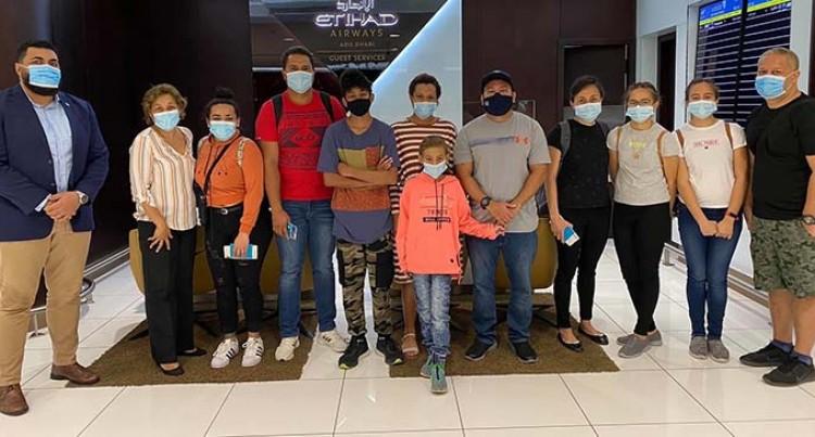Fijians From UAE Finally Return Home