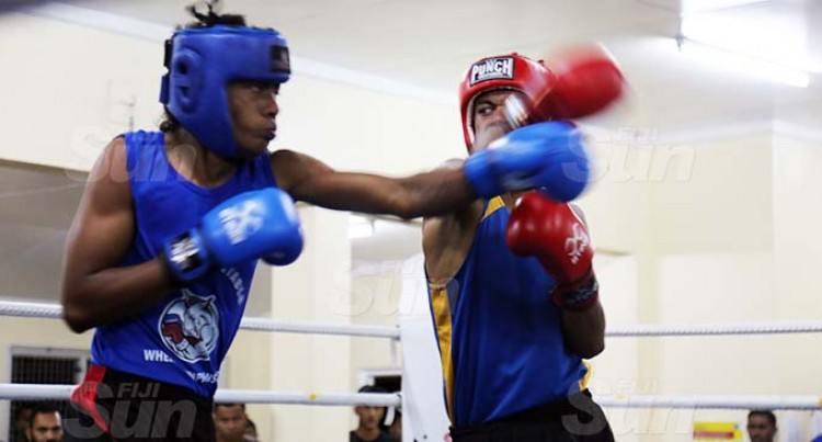 Boxers Prepare For King Of The Ring