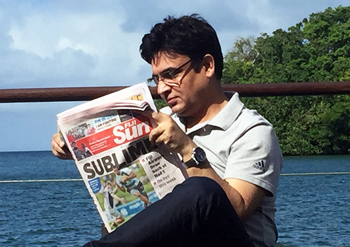 Jai Kumar Sharma is Fiji Sun's Consultant Editor based in New Delhi. He has held senior positions at some of India's biggest newspapers and now runs his own international news media consultancy company Asia Media Design.
