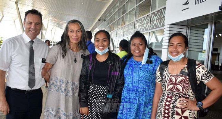 Samoan LDS Missionaries Happy To Finally Return Home