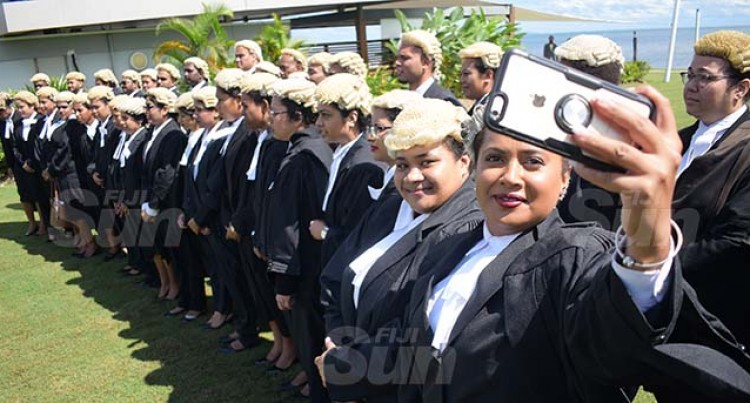 37 USP Law Students Admitted To The Bar By Acting Chief Justice