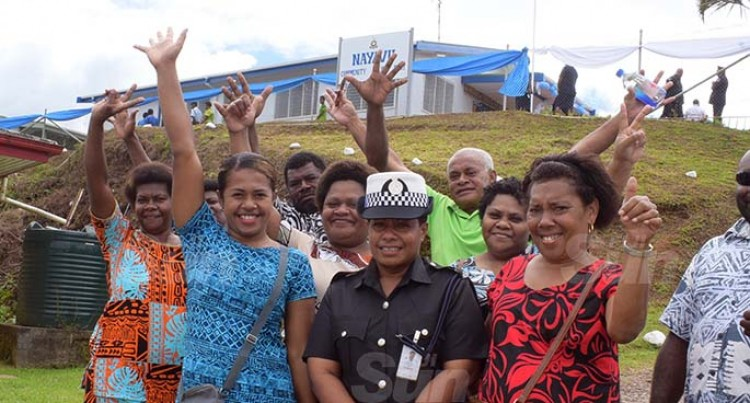 PM Commissions New Nayavu Community Police Post