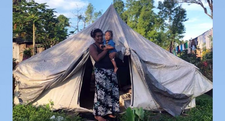 NGO Hopes To Build New Home For Mum And Son Living In A Makeshift Tent