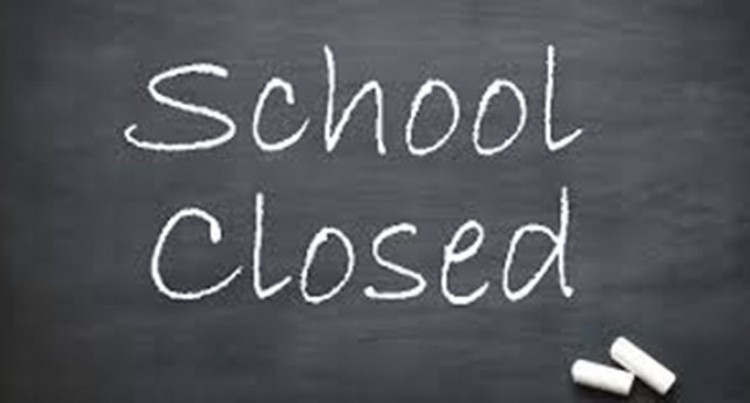 All Schools Closed Until Further Notice