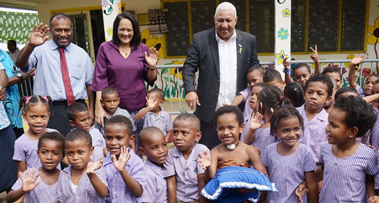 Prime Minister Voreqe Bainimarama Makes Decades-Long Dream Come True For Village