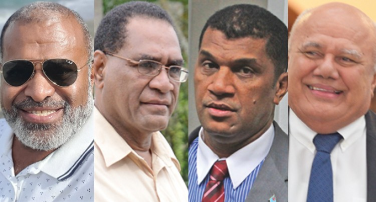 Four Expected To Give Rabuka Tough Fight For SODELPA Leadership