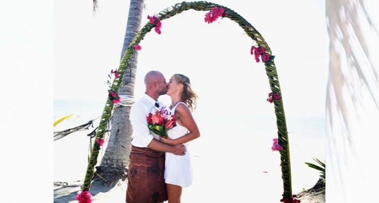 Wailoaloa Community Hosts Stranded Couple's Wedding In Fiji