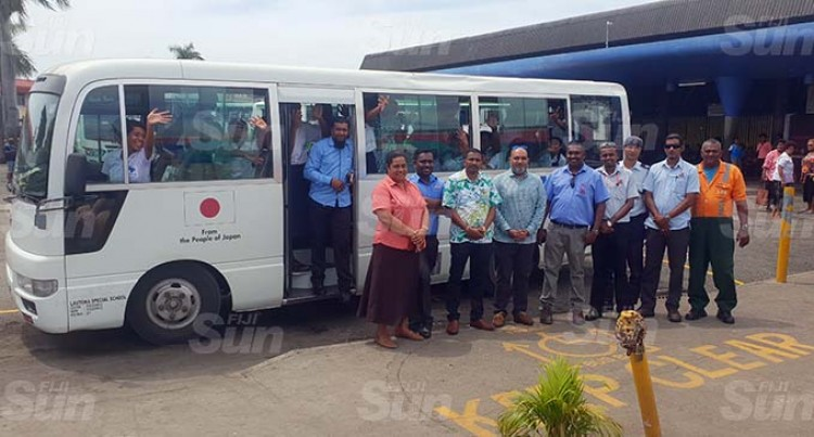 Lautoka Dedicates Bus Bay For Children With Special Needs